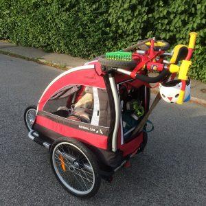Jämförelse mellan Thule Chariot och Nordic Cab