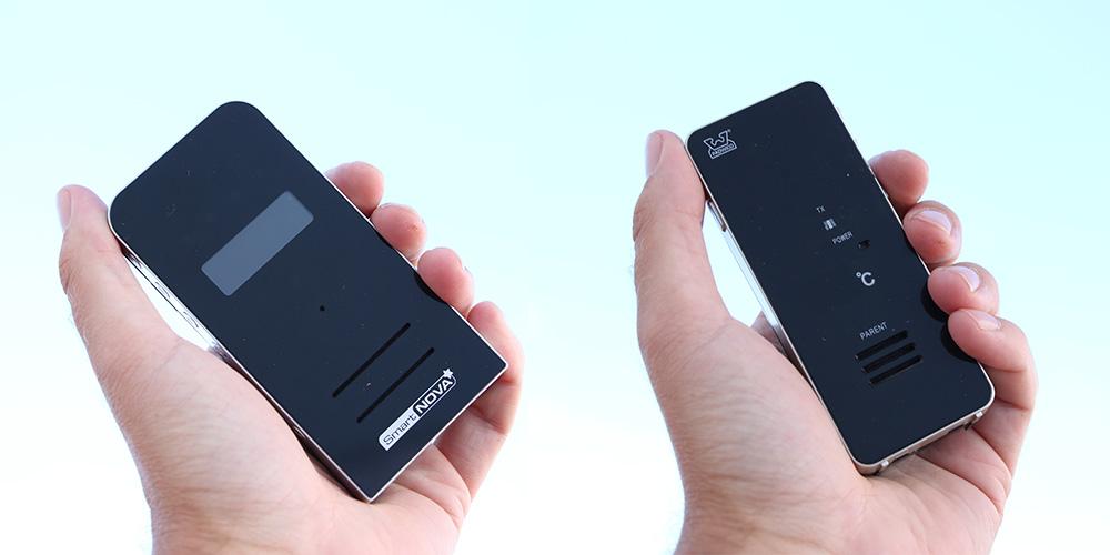 Till vänster: Smartnova. Till höger: Padwico 850