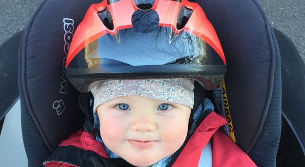 cykelhjälm barn
