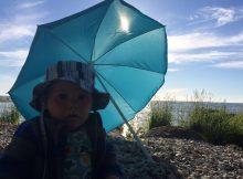 parasoll på resa