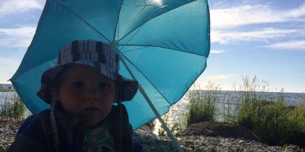 Parasoll på resa!