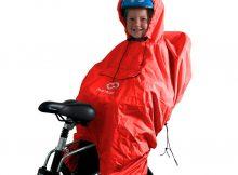 regnskydd till cykelstol