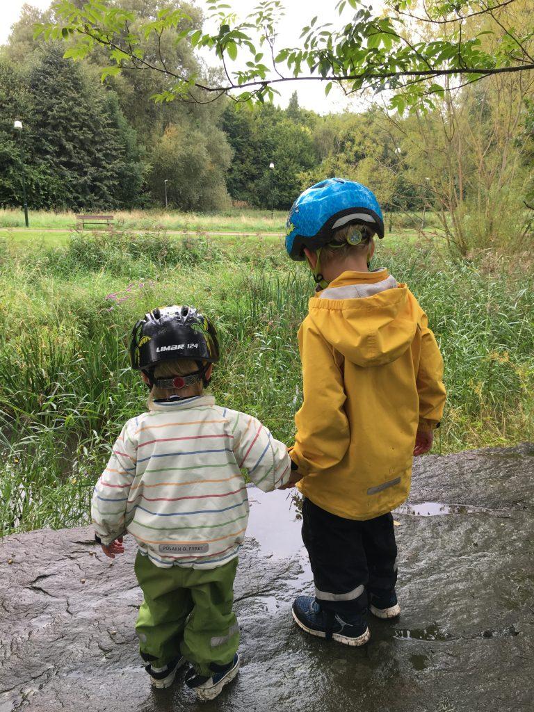 Test av skalkläder för barn 2018