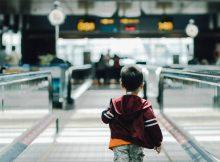 flyga med barn