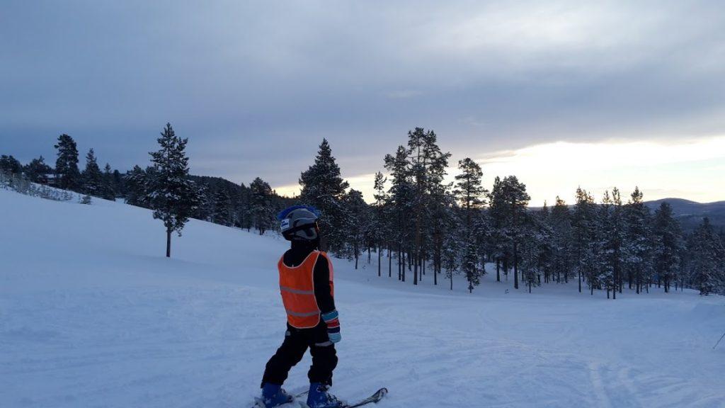 Träning inför skidresan