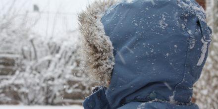 När vintern och snön kom till Skåne!