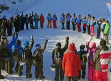 alla på snö