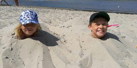 Hur man får en lugn stund på stranden!