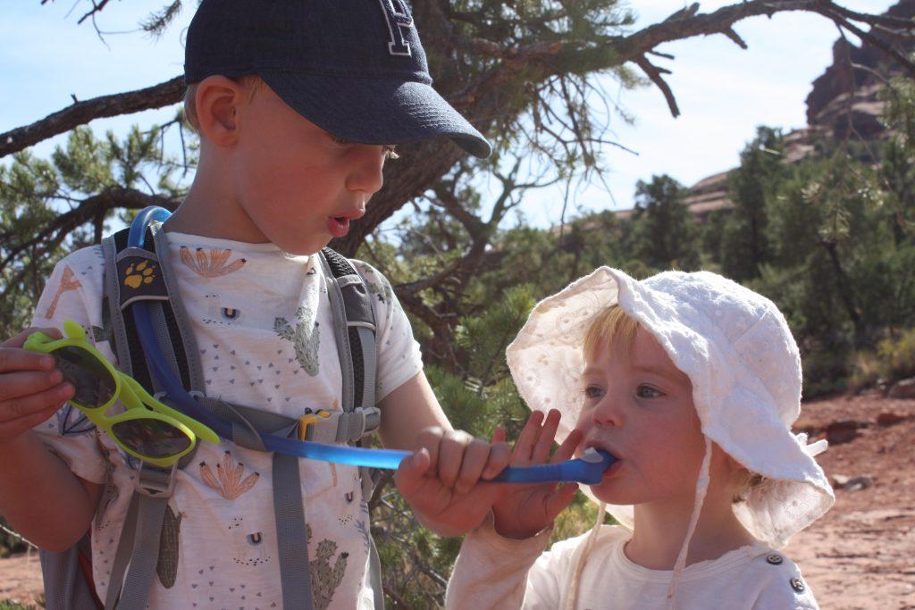 att introducera friluftsliv till barn