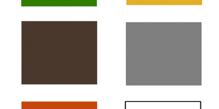 Naturskatter i färgkartans höstfärger