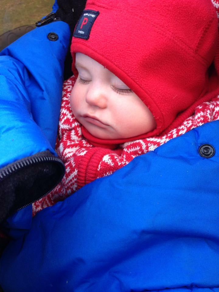 Tips för att sova i tält med bebis!