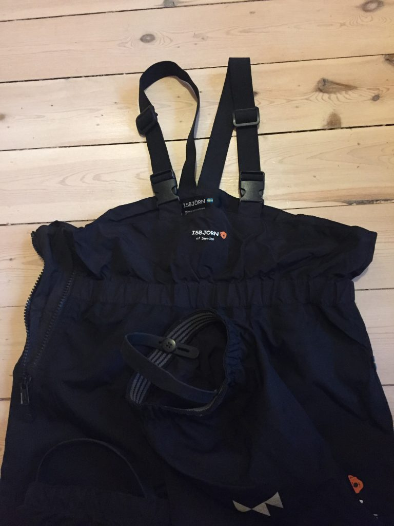 Test av skalkläder från Isbjörn of Sweden 2019